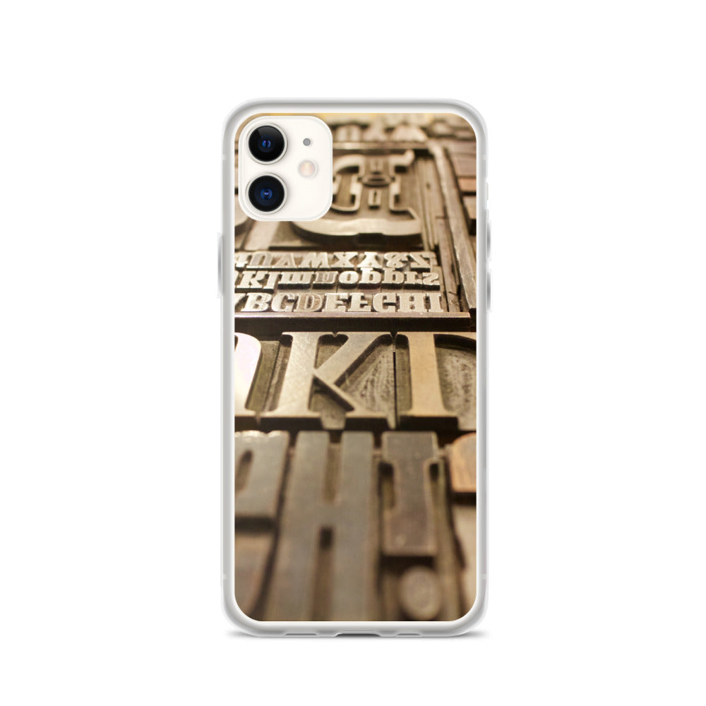 Letterpress IPhone Case - FRANKdesigns.Co