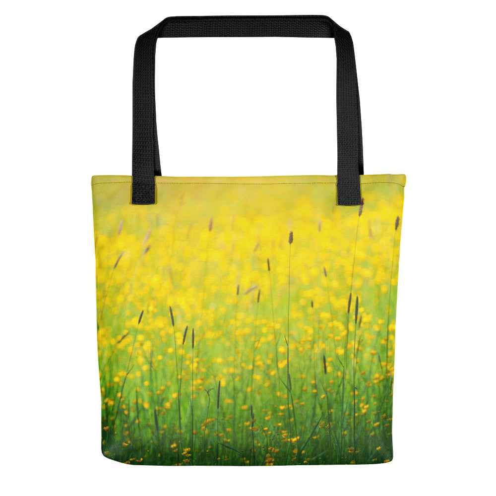 Field of Sun Tote bag - FRANKdesigns.Co