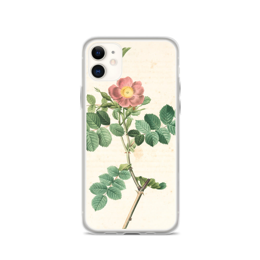 vintage flower print illustration 15 IPhone Case - FRANKdesigns.Co