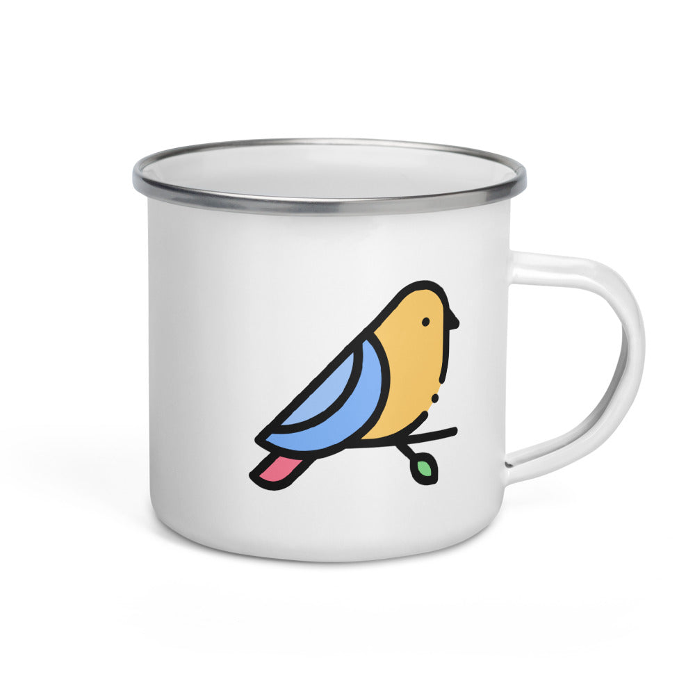 Little Bird Enamel Mug - FRANKdesigns.Co