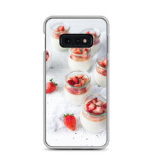 Load image into Gallery viewer, Strawberries and cream Samsung Case - FRANKdesigns.Co