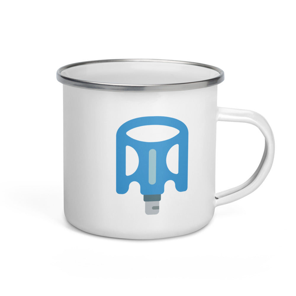 Bike Pedal Enamel Mug - FRANKdesigns.Co
