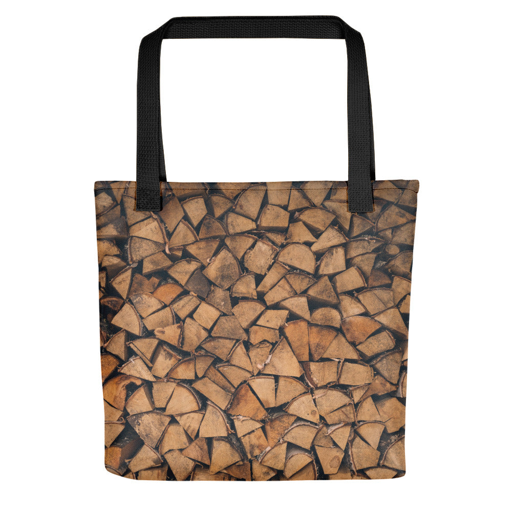 Stacked Wood Tote bag - FRANKdesigns.Co