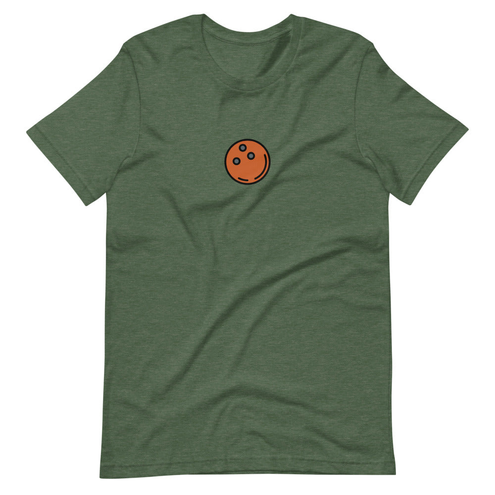 Bowling Ball T-shirt - FRANKdesigns.Co