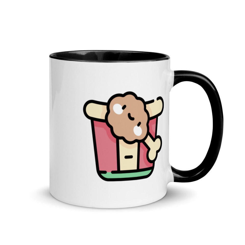 Fried Chicken Mug with Color Inside - FRANKdesigns.Co