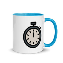 Load image into Gallery viewer, Stopwatch Mug with Color Inside - FRANKdesigns.Co