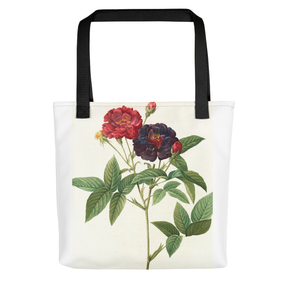 vintage flower print illustration 27 Tote bag - FRANKdesigns.Co