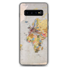 Load image into Gallery viewer, World Map Samsung Case - FRANKdesigns.Co