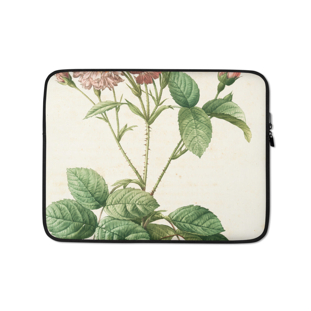 vintage flower print illustration 20 Laptop Sleeve - FRANKdesigns.Co