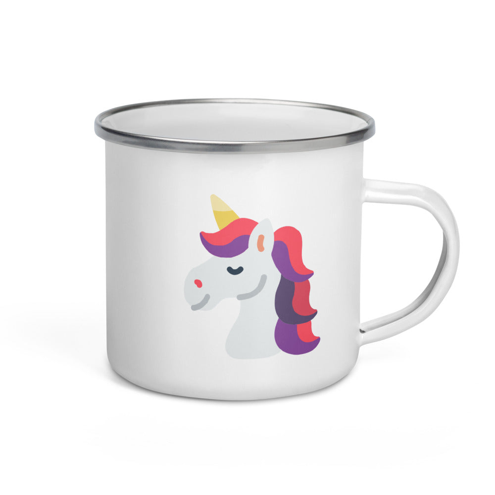 Unicorn Enamel Mug - FRANKdesigns.Co
