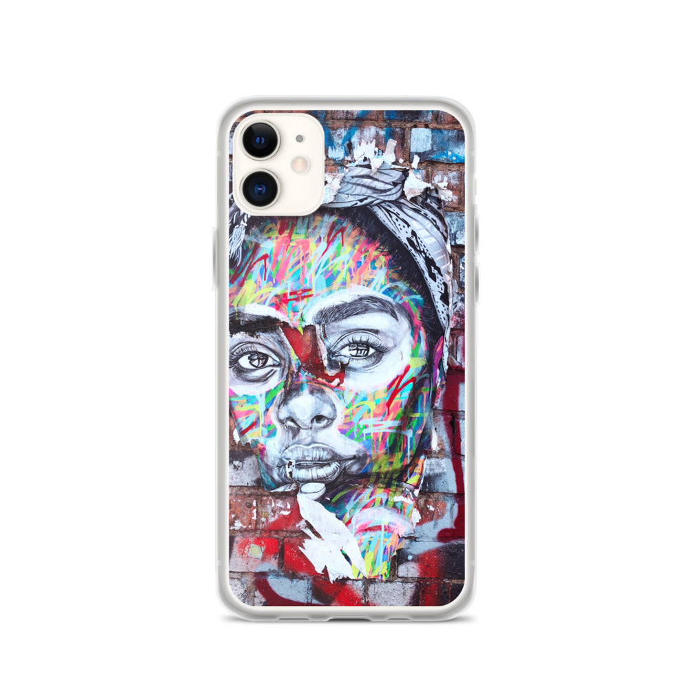 Face Spray IPhone Case - FRANKdesigns.Co