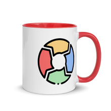 Load image into Gallery viewer, Circular Chart Mug with Color Inside - FRANKdesigns.Co