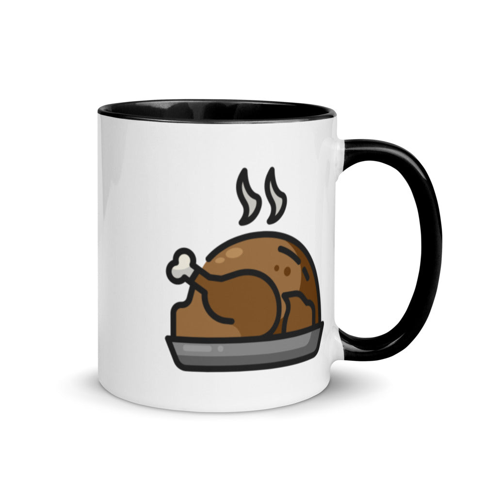 Turkey Mug with Color Inside 2 - FRANKdesigns.Co