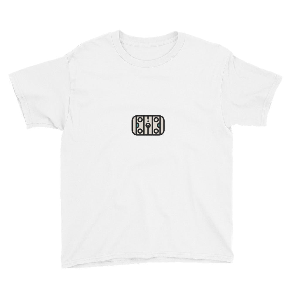 Hockey Rink Youth Short Sleeve T-Shirt - FRANKdesigns.Co
