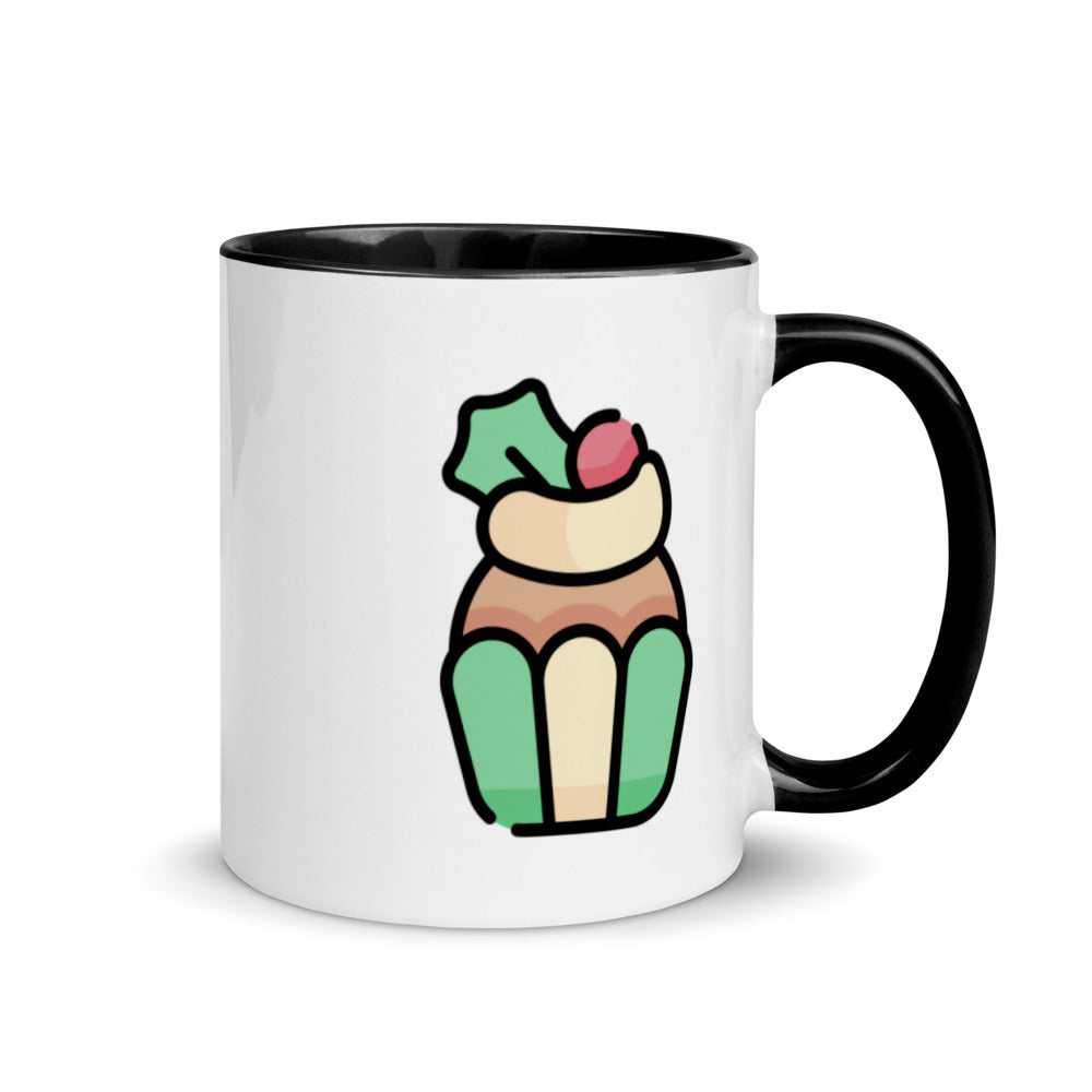 Cupcake Mug with Color Inside - FRANKdesigns.Co