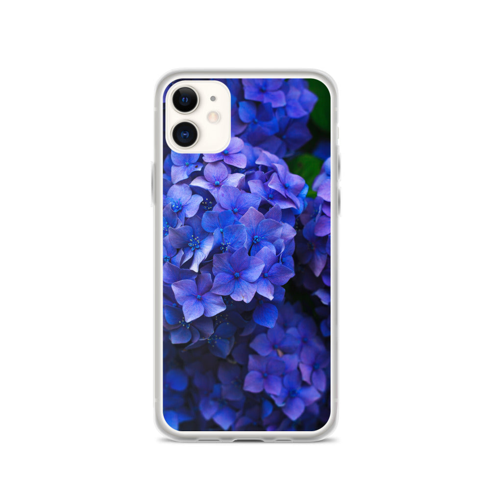 Blue Flowers IPhone Case - FRANKdesigns.Co