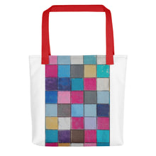 Load image into Gallery viewer, chaulk colors Tote bag - FRANKdesigns.Co