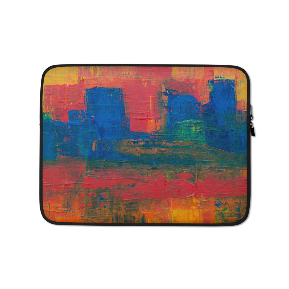 Laptop Sleeve | Santa Fe Blocks - FRANKdesigns.Co