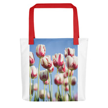 Load image into Gallery viewer, Tulips in a Field Tote bag - FRANKdesigns.Co