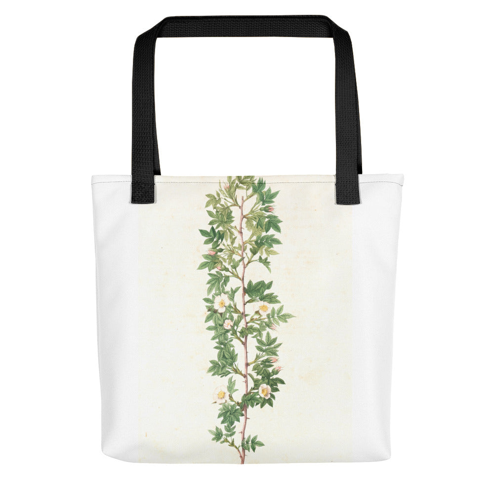 vintage flower print illustration 21 Tote bag - FRANKdesigns.Co