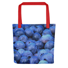 Load image into Gallery viewer, Blueberry Pile Tote bag - FRANKdesigns.Co