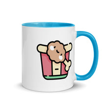 Load image into Gallery viewer, Fried Chicken Mug with Color Inside - FRANKdesigns.Co