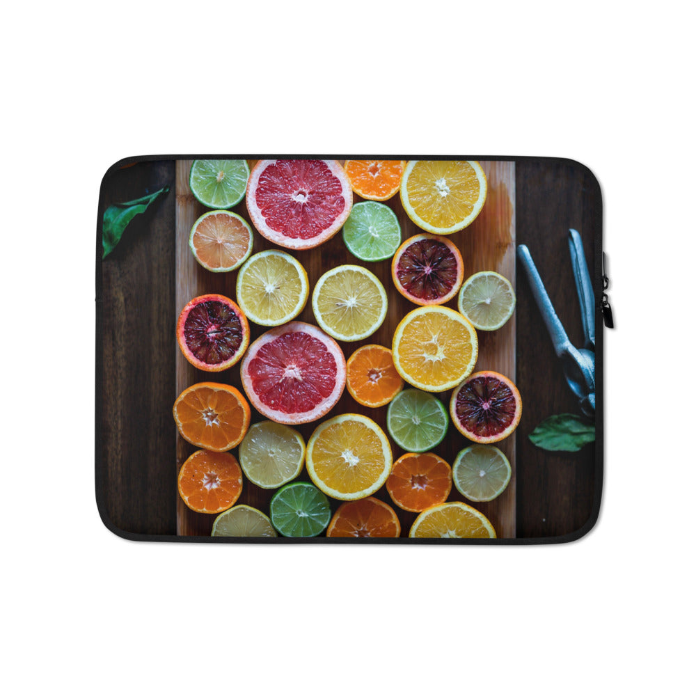 citrus Laptop Sleeve - FRANKdesigns.Co