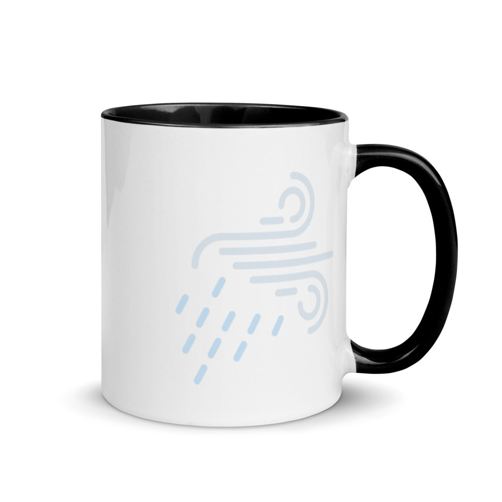 wind 1 Mug with Color Inside - FRANKdesigns.Co