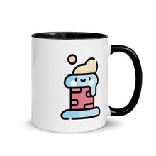 Load image into Gallery viewer, Chimney Mug with Color Inside - FRANKdesigns.Co