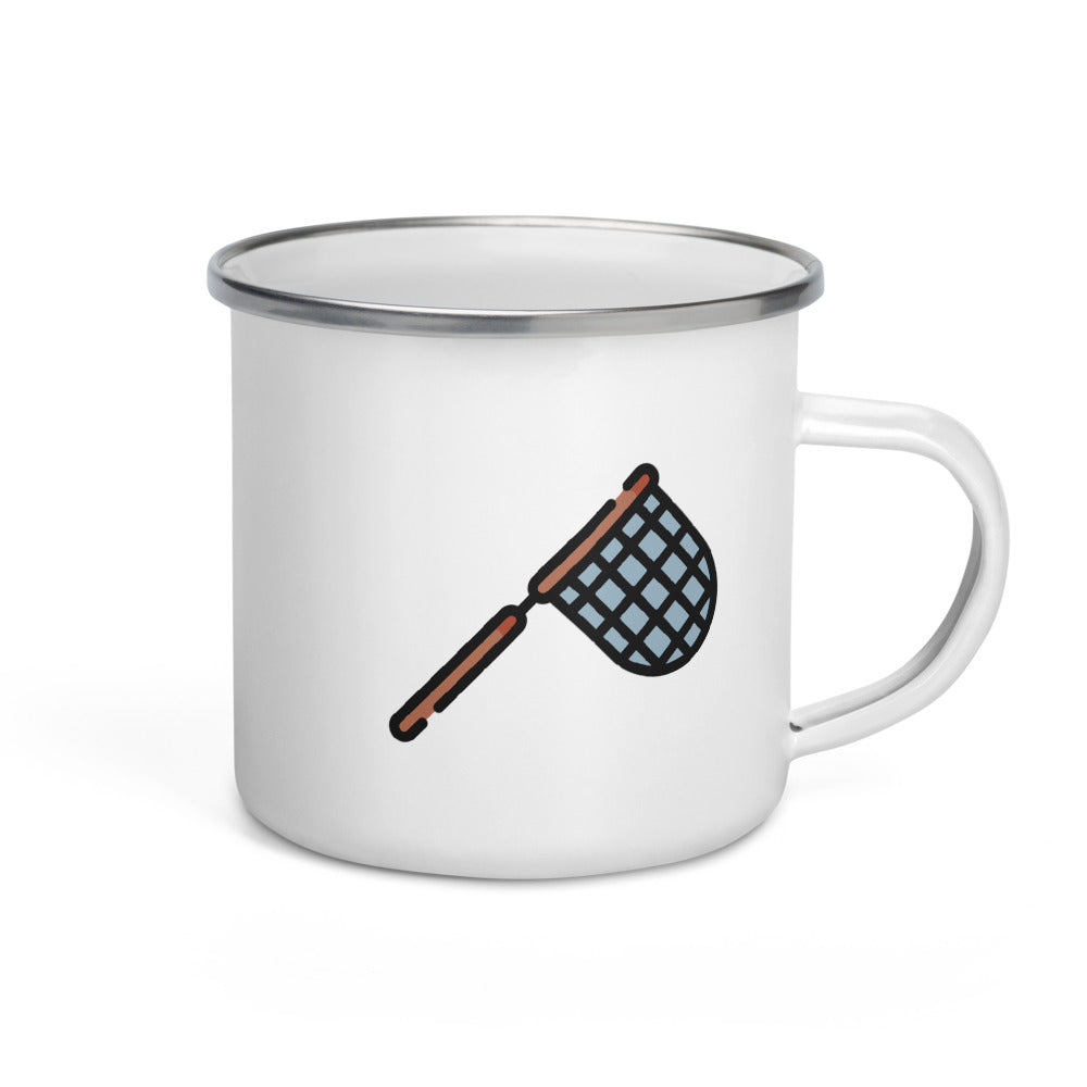 Fishing Net Enamel Mug - FRANKdesigns.Co
