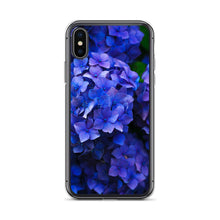 Load image into Gallery viewer, Blue Flowers IPhone Case - FRANKdesigns.Co