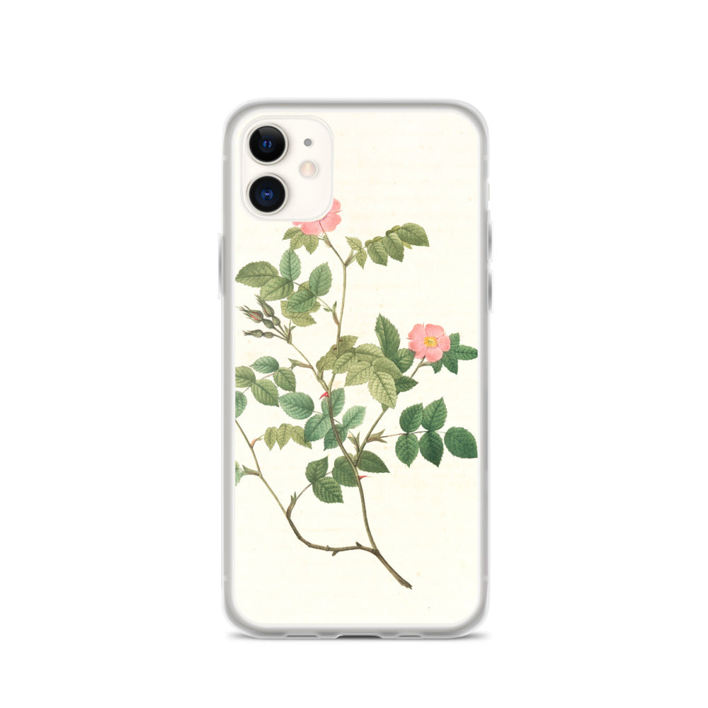vintage flower print illustration 29 IPhone Case - FRANKdesigns.Co