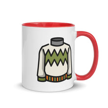 Load image into Gallery viewer, Sweater Mug with Color Inside - FRANKdesigns.Co