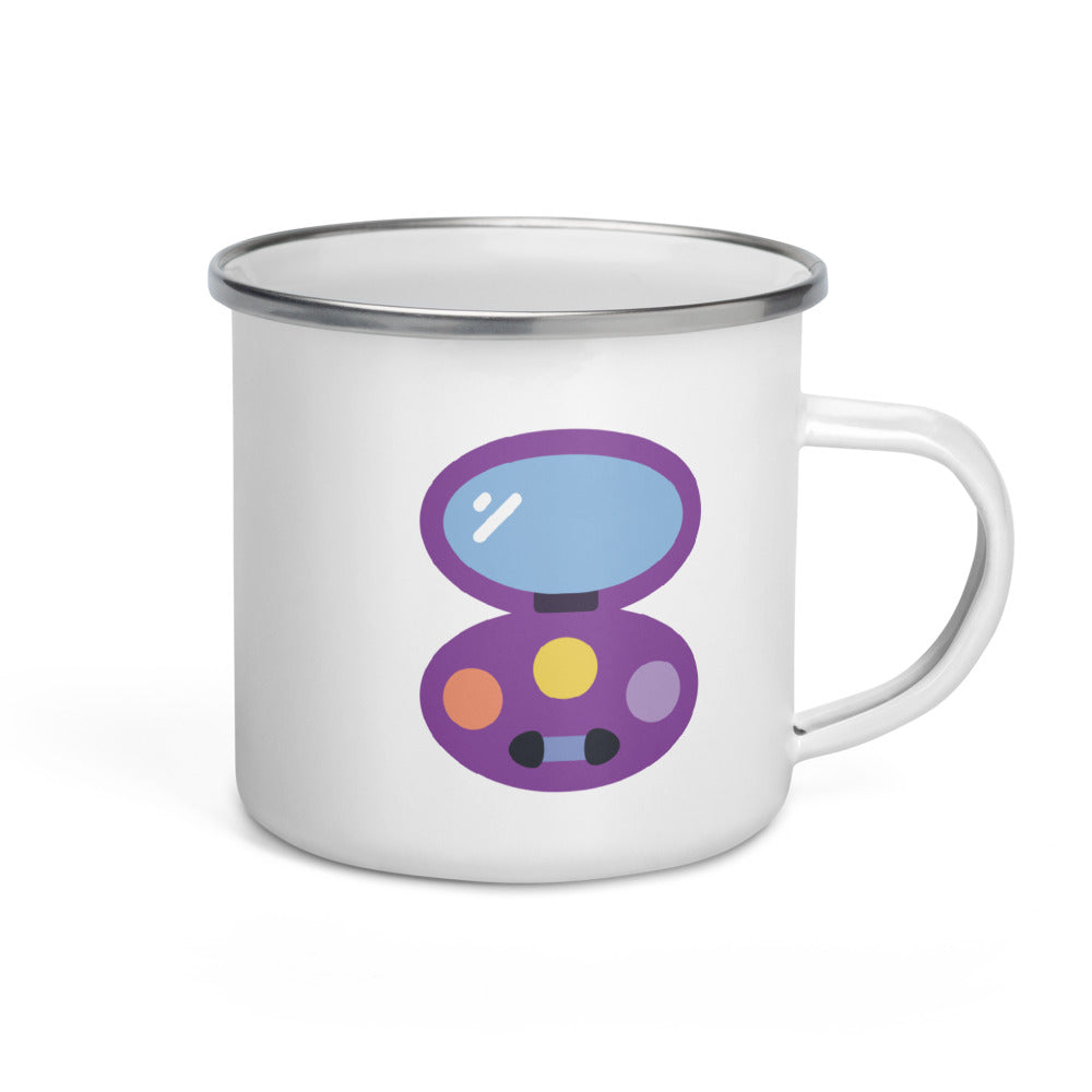 Eyeshadow Enamel Mug - FRANKdesigns.Co