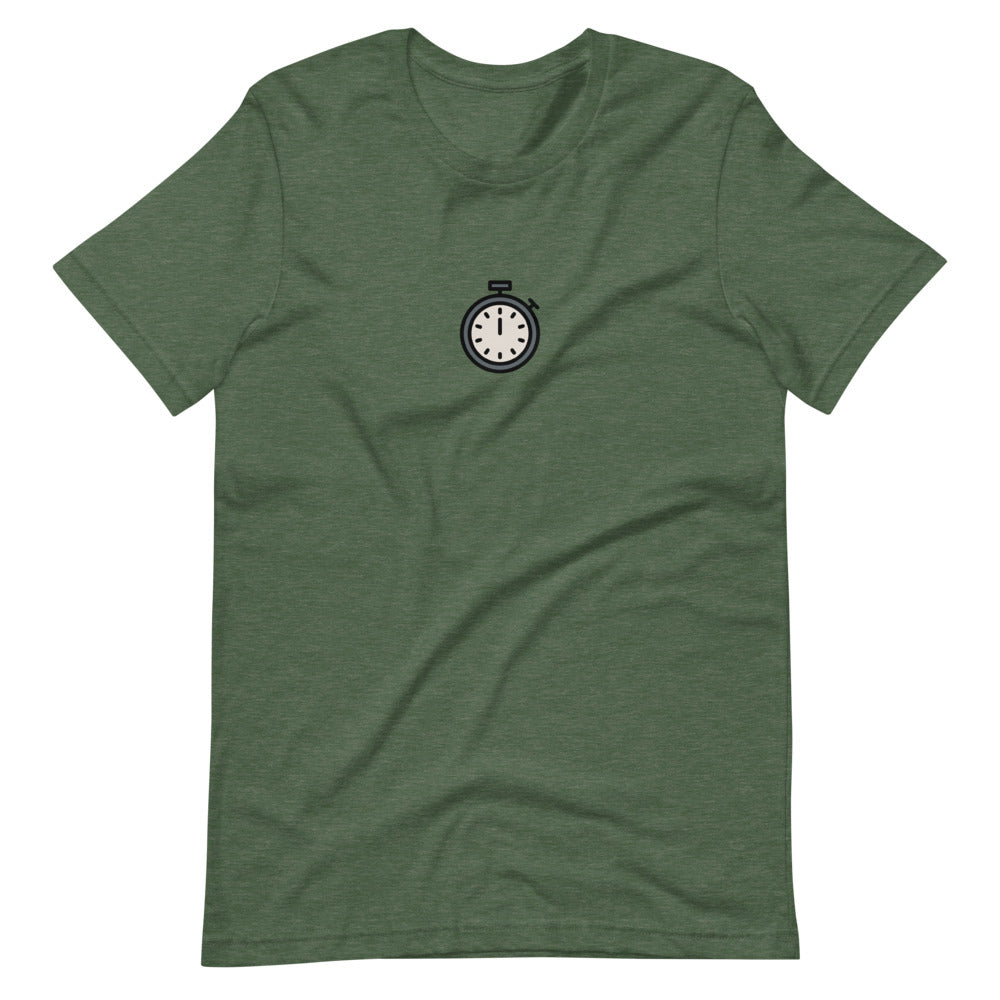 Stopwatch T-shirt - FRANKdesigns.Co
