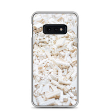 Load image into Gallery viewer, White LEGO Bricks Samsung Case - FRANKdesigns.Co