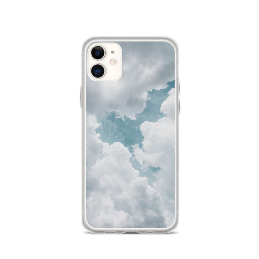 fluffy clouds IPhone Case - FRANKdesigns.Co