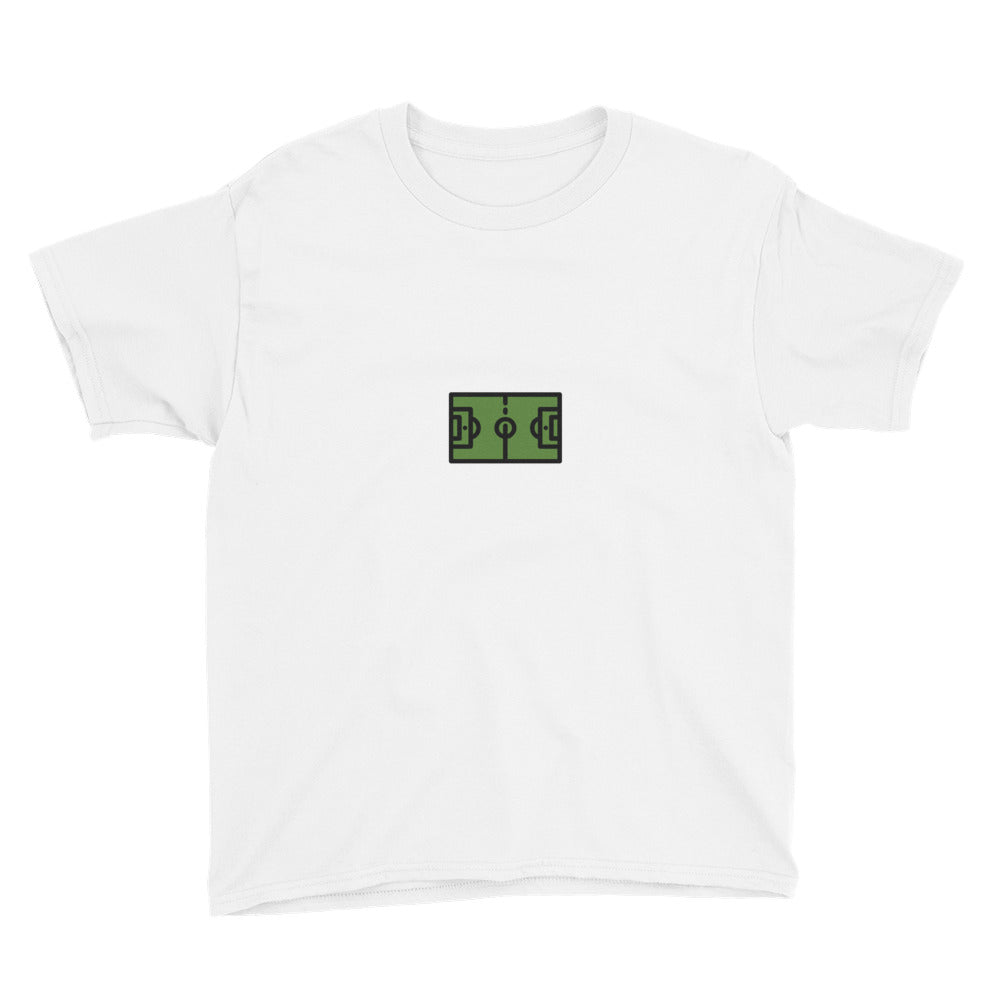 Soccer Field Youth Short Sleeve T-Shirt - FRANKdesigns.Co