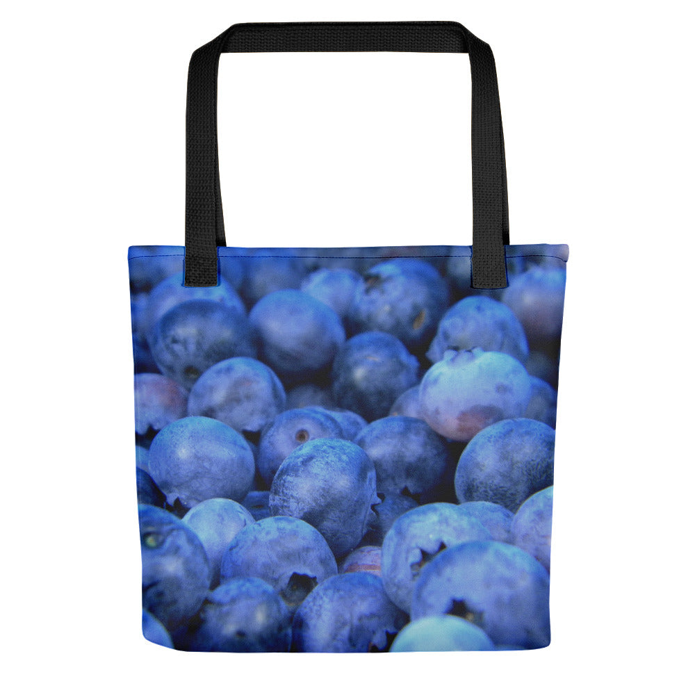 Blueberry Pile Tote bag - FRANKdesigns.Co