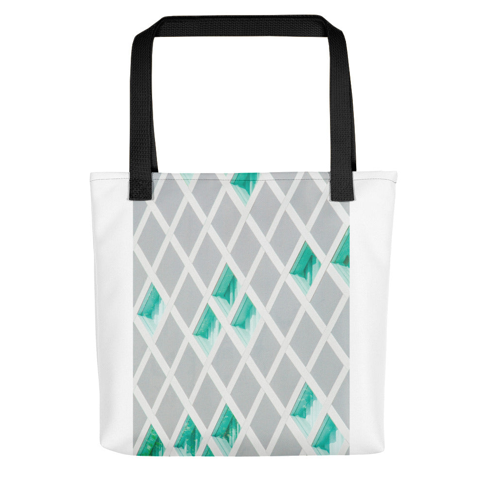 Grid Windows Tote bag - FRANKdesigns.Co