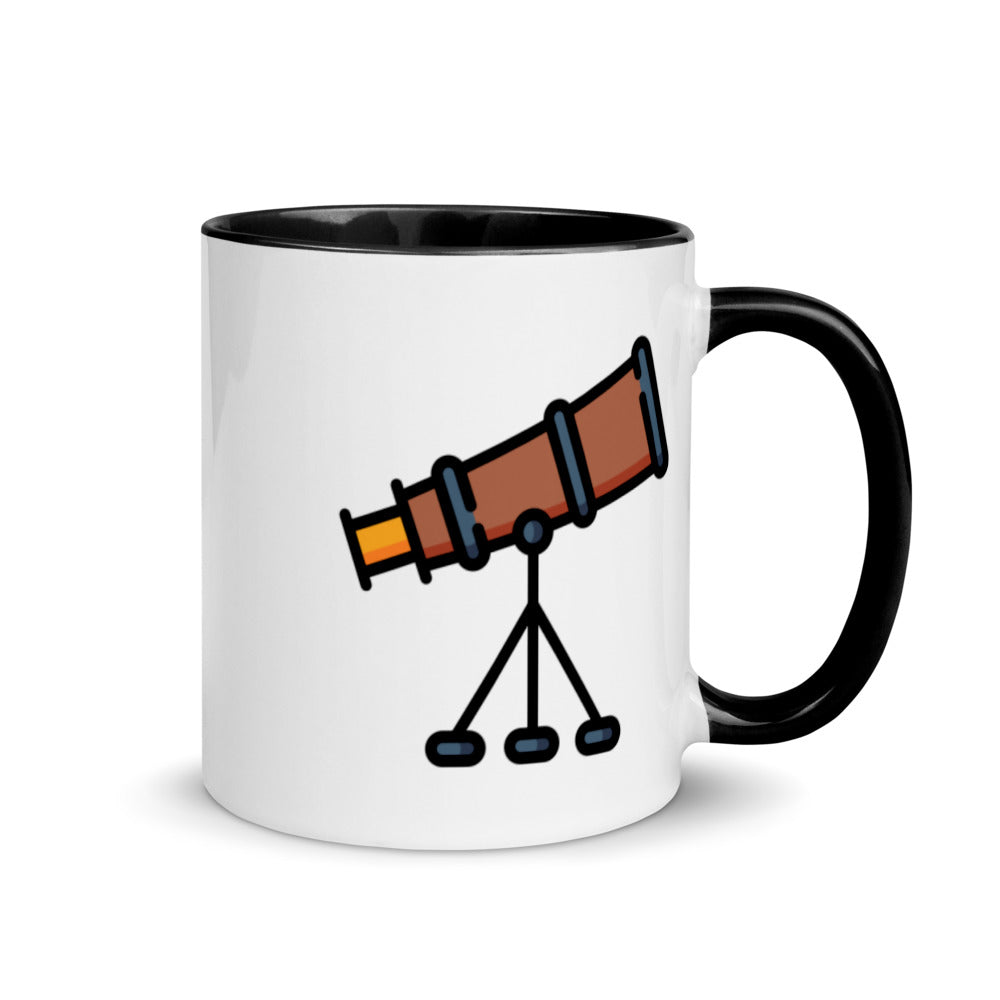 Telescope Mug with Color Inside - FRANKdesigns.Co