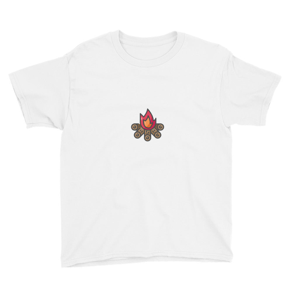 Campfire Youth Short Sleeve T-Shirt - FRANKdesigns.Co