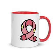 Load image into Gallery viewer, Christmas Scarf Mug with Color Inside - FRANKdesigns.Co