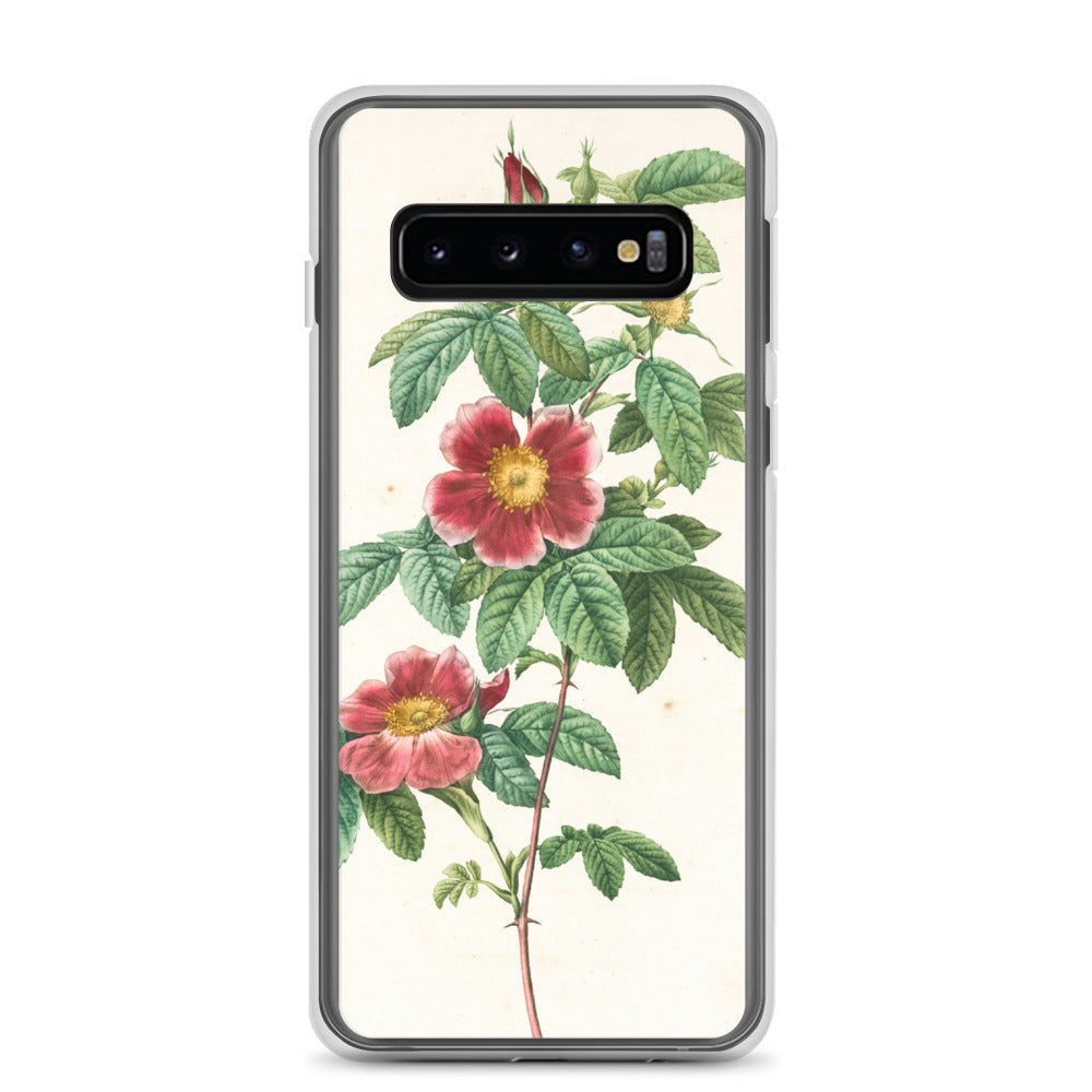 vintage flower print illustration 3 Samsung Case - FRANKdesigns.Co