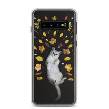 Load image into Gallery viewer, Samsung Case | Autumn Cat - FRANKdesigns.Co