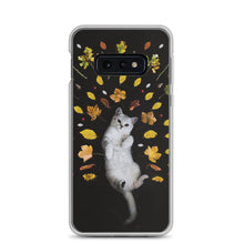 Load image into Gallery viewer, autumn cat Samsung Case - FRANKdesigns.Co