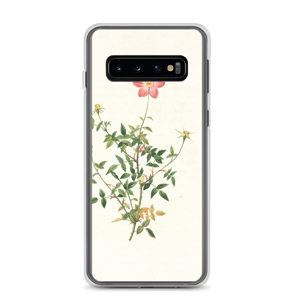 vintage flower print illustration 28 Samsung Case - FRANKdesigns.Co