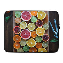 Load image into Gallery viewer, citrus Laptop Sleeve - FRANKdesigns.Co