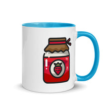 Load image into Gallery viewer, Jam Mug with Color Inside - FRANKdesigns.Co