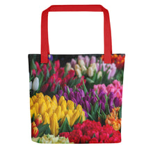 Load image into Gallery viewer, Bunches of Flowers Tote bag - FRANKdesigns.Co